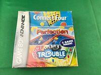Connect Four/perfection/trouble (nintendo Game Boy Advance, 2005)