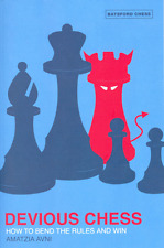Devious Chess. By Amatzia Avni. New Book