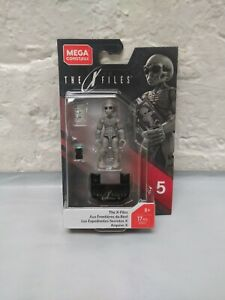 MegaConstrux-Alien-The-X-Files-Mega-CONSTRUX-Comme-neuf-on-Card-Series-5-New-in-Box-Toy