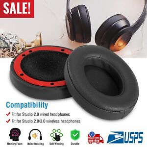 2x-Replacement-Ear-Pad-Ears-Cup-Cushion-for-Beats-2-0-Studio-Headphone-Wireless