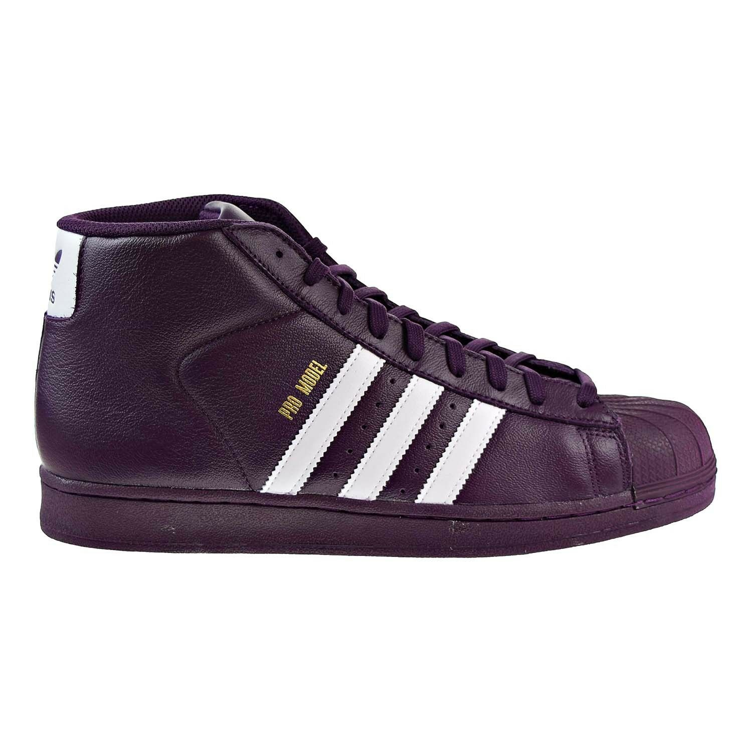 Adidas Originals Pro Model Men's Shoes Rednit/FTW White/Gold AC7646 Comfortable and good-looking