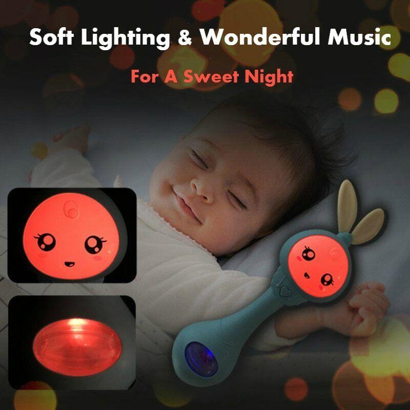 Musical Flashing Baby Rattles