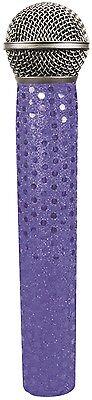 Micfx Brand Music Microphone Slip-on Sleeve Cover Skin - Blue Sequin Sensation Een Onmisbare Soevereine Remedie Voor Thuis