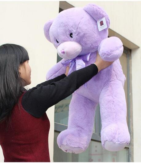 35  viola Lavender TEDDY BEAR Stuffed Animal Plush&soft Toy Cute Doll gift