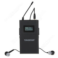 US Takstar WPM-200 Receiver Wireless Monitor In-Ear Headphone 780-789Mhz DC 3V