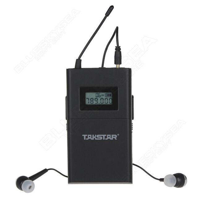 Takstar OMP-200 récepteur moniteur sans fil écouteur 780-789Mhz DC 3V