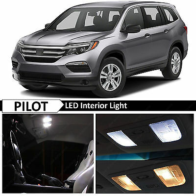 13x White Led Lights Interior Package Kit Fits 2016 2017 Honda Pilot Ebay