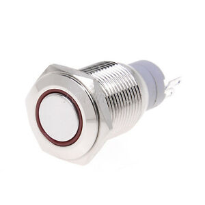 16mm-Red-12V-Led-Angel-Eye-Push-Button-Metal-Momentary-Switch-For-Car-DIY