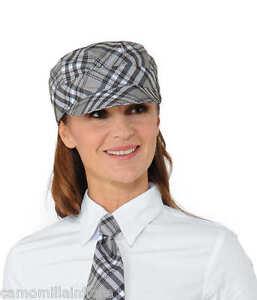 Cappello Berretto Uomo Donna Per Gelateria Bar Pasticceria Fantasia Grigia 412