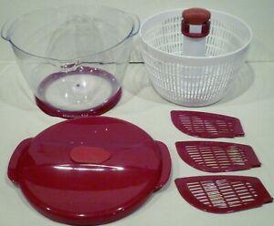 Details about KitchenAid Salad & Fruit Spinner Red