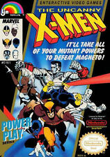 The Uncanny X-Men For Nintendo NES Vintage 9E