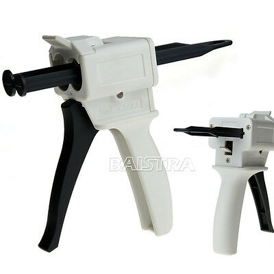 sale Dental Impression Mixing Dispensing Dispenser Gun 1:1 / 2:1 Ratio 50ml