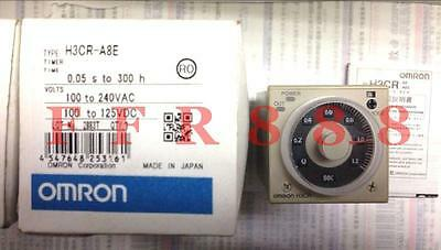 1pcs NEW OMRON Time relay H3CR-A8 AC100-240V