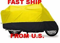 Mon Jonway Scooter Vip Motorcycle Cover Tc- M 5 Yellow On Black