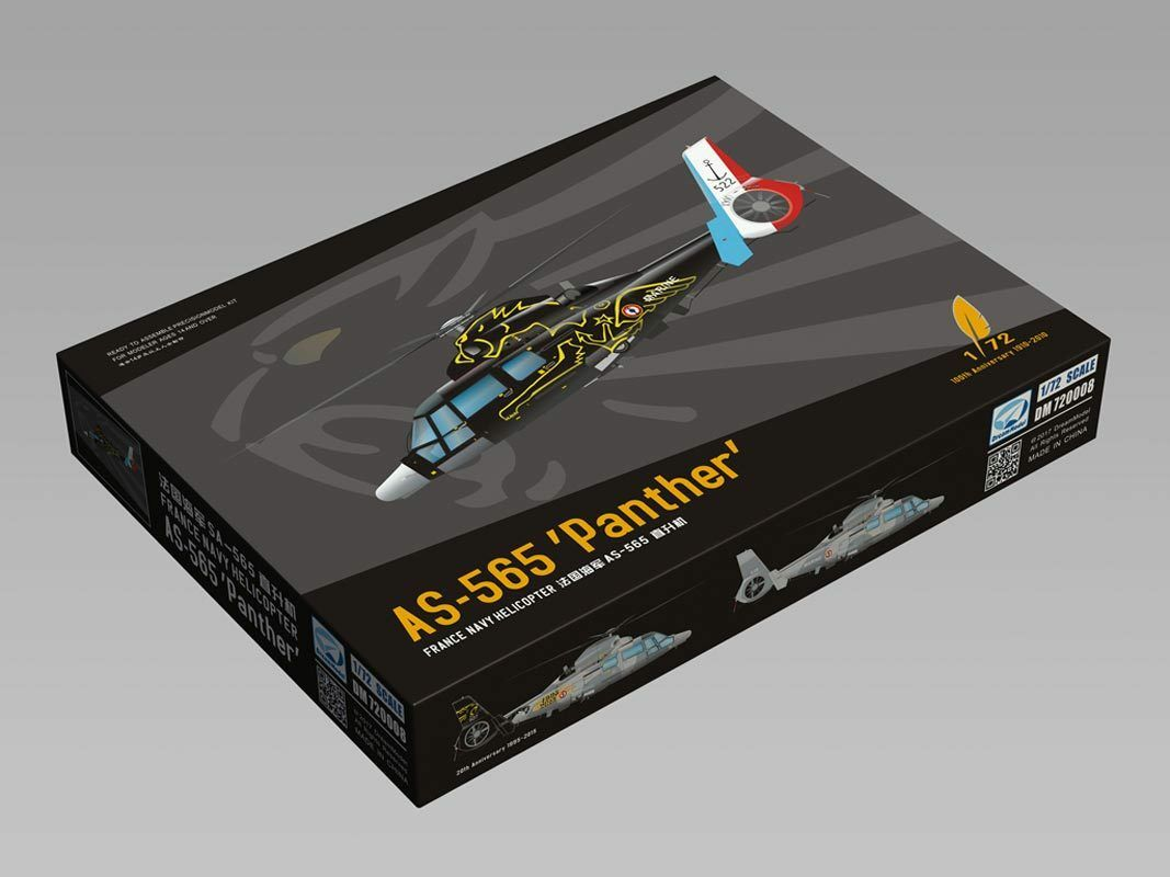DreamModel Model Kit 1 72 Scale France Navy AS-565SA 'Phanther' Helicopter