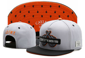 New-Hip-Hop-Men-039-s-CAYLER-Sons-Hat-adjustable-Baseball-Snapback-Black-Street-cap