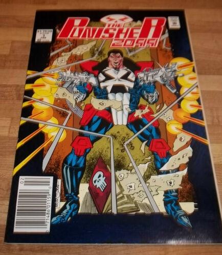 356 --206 MARVEL PUNISHER 2099 ISSUE #1 COMIC BOOK