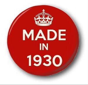 fabrique-en-1930-2-5cm-25mm-Insigne-de-bouton-nouveaute-mignon-88th