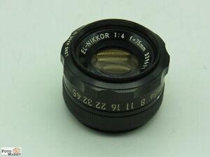 Nikon-el-NIKKOR-m39-vergrosserungsobjektiv-1-4-75mm-per-6x6-ingranditori