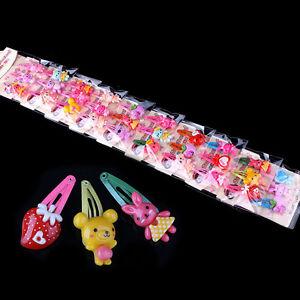 20pcs-Mixed-Assorted-Baby-Kid-Children-Girls-Cartoon-Hair-Pin-Clips-Hairpin-Bow