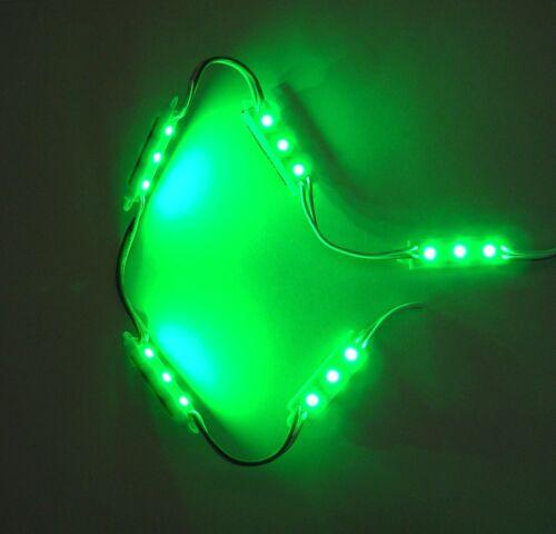 String of 5 BBT Brand 12 volt Waterproof Green LED Courtesy Lights