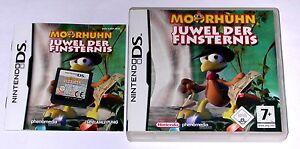 Nintendo Ds Spiel Moorhuhn Juwel Der Finsternis Komplett Ebay