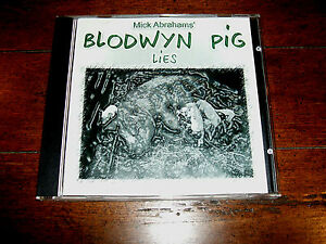 Mick Abrahams' Blodwyn Pig - Lies CD (1999, CAS Records) German Import EXC