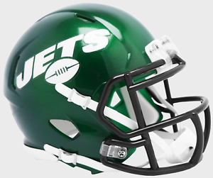 NEW-YORK-JETS-NFL-Riddell-SPEED-Mini-Football-Helmet