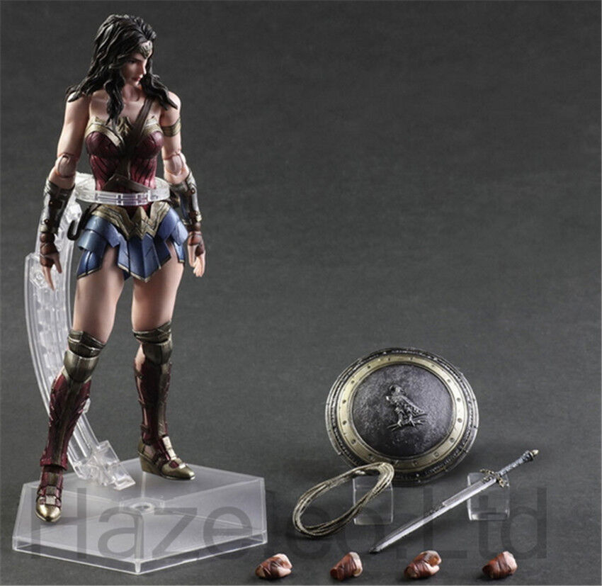 Wonder Woman Diana Prince Action Figure Cosplay with Box 11  TGN