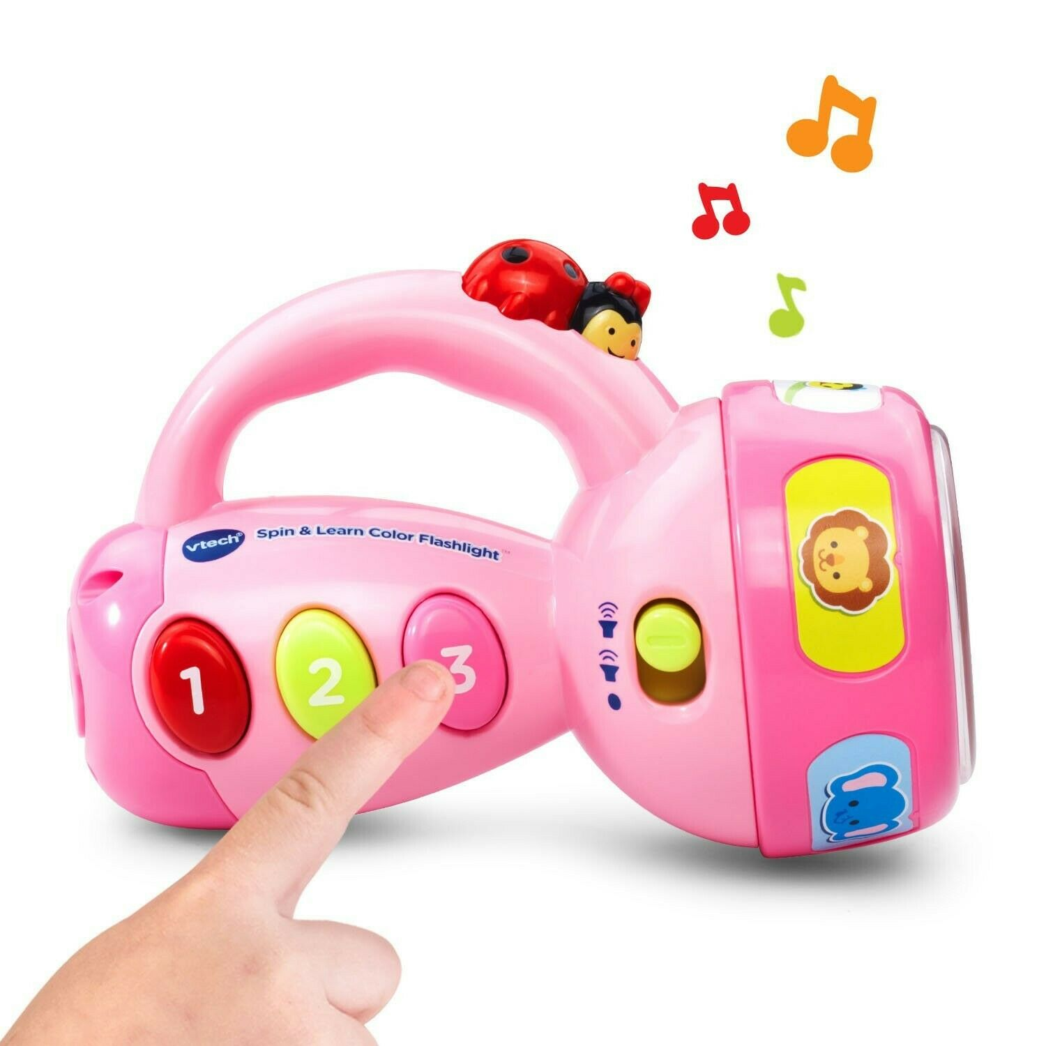 Pink VTech Spin and Learn Color Flashlight  Exclusive