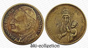 Medalla-Papale-Vatican-Joannes-Paulus-II-Ora-pro-Nobis-Bronce