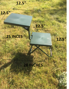 Peachy Details About Shooting Table Bench Rest Rifle Target Range Gun Rest Camping Seat Chair Pdpeps Interior Chair Design Pdpepsorg