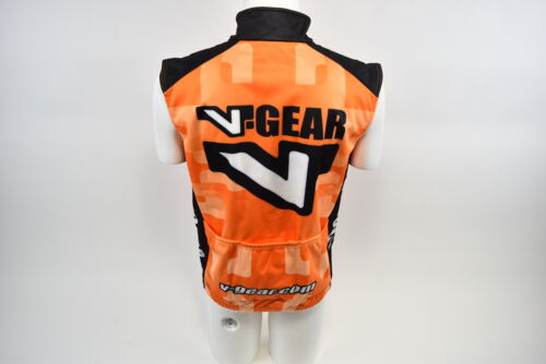 Details about  /Verge Men/'s XS V-Gear Thermo Vest Thermal Winter Cycling Orange