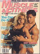 Muscle & fitness November 1994 Dennis Newman, Monica Brant 062117nonDBE