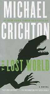 NEW-The-Lost-World-By-Michael-Crichton-Paperback-Free-Shipping