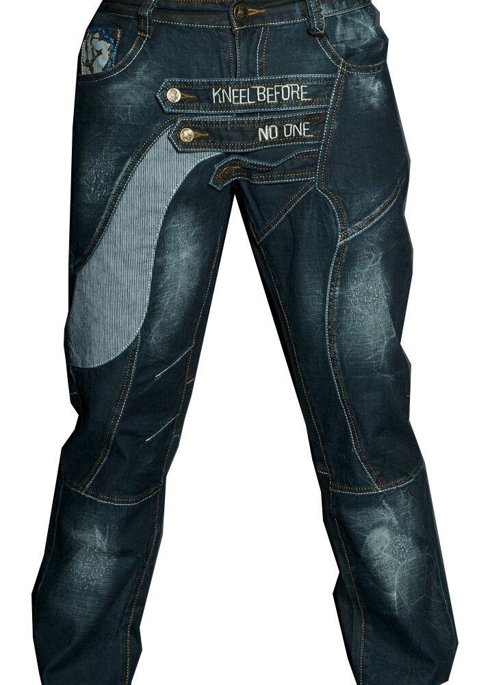 Mens Designer Jeans Denim distressed crosshatch  communist state 06 cipobaxx voi