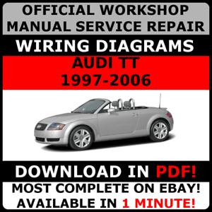 image is loading official-workshop-repair-manual-for-audi-tt-1997-