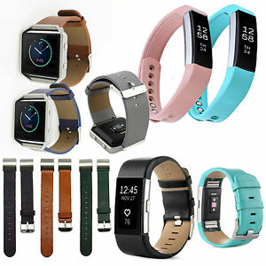 FitBit-Alta-Alta-HR-Charge-2-Blaze-Leather-Wristband-Strap-Band-Bracelet