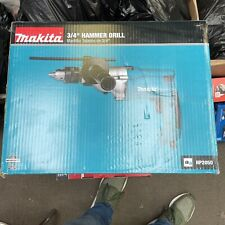 Makita Hp2050 Hammer Drill Built In Clutch Rubberized Grip 66amp 34in Corded