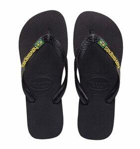 Havaianas-Brasil-Logo-Flip-Flops-Black