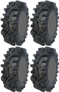 4 Sedona Mudder Inlaw ATV Tires Set 2 Front 32x10-14 & 2 Rear 32x10-14 Mudda