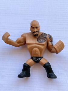 Mattel - WWE THE ROCK WRESTLING MINI FIGURE RUMBLERS RAMPAGE Series