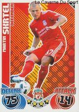 169 MARTIN SKRTEL SLOVAKIA LIVERPOOL.FC FC.ZENIT CARD PREMIER LEAGUE 2011 TOPPS