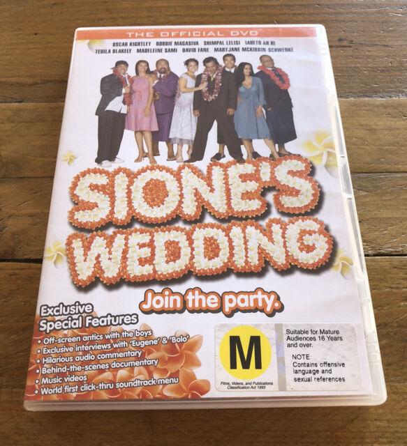 Sione's Wedding DVD
