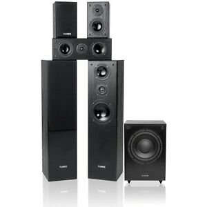 Fluance-5-1-Wood-Surround-Sound-Home-Theater-Speaker-System-w-Powered-Subwoofer