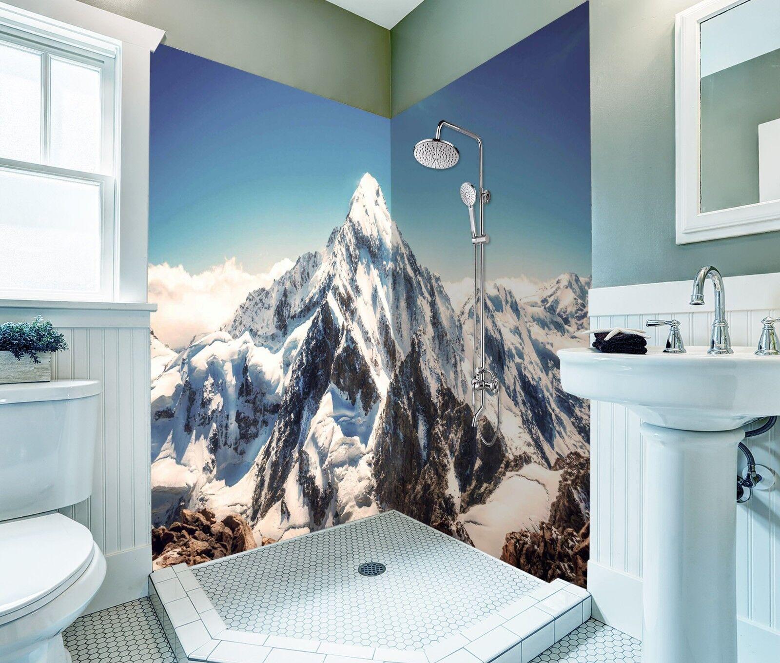 3D Mountain snow 6437 WallPaper Bathroom Print Decal Wall Deco AJ WALLPAPER UK