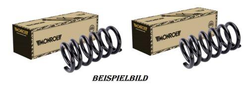 2x Monroe SE3439 Federn Fahrwerksfedern Vorne NOTE RENAULT CLIO 1.2-2.0