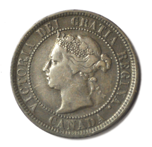 1888-1c-Canada-One-Large-Cent-KM-7-Bronze
