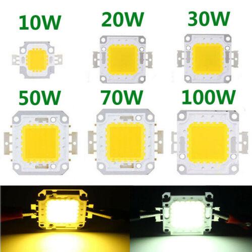 COB LED Chip Lights SMD Bulb 100W 50W 70W 30W 20W 10W  Floodlight Lamp Beads