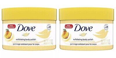 Dove Exfoliating Body Polish Crushed Almond Mango Butter 2 Pack 11111016958 Ebay